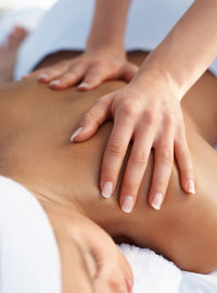 magnesium oil massage
